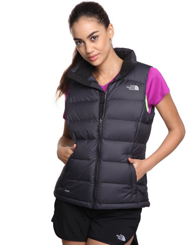 North Face 2 Black Vest The Nuptse PnwkO0