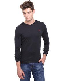Soviet Dust Long Sleeve Basic T-shirt Black