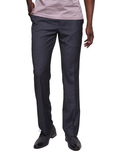 Birdi Polyviscose Mens Pinstripe Trouser Grey