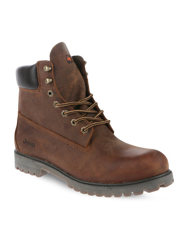 Jeep Gecko Boots Brown Zando