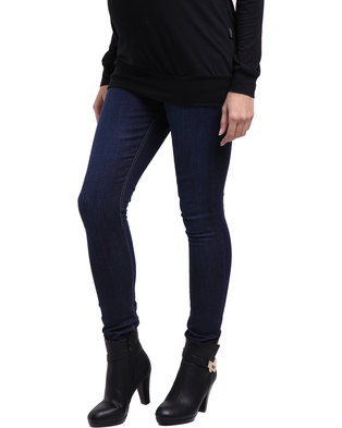 1a950ff4a7f Cherry Melon Skinny Jeans Faded Denim