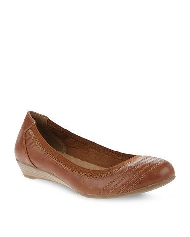 83c1f835ed97cc Bata Ballerina Dress Flats Brown