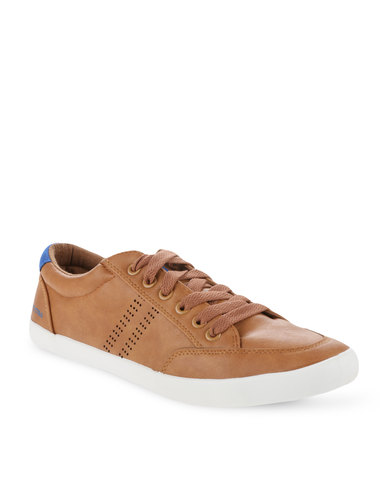 North Star Casual Lace Up Shoes Brown