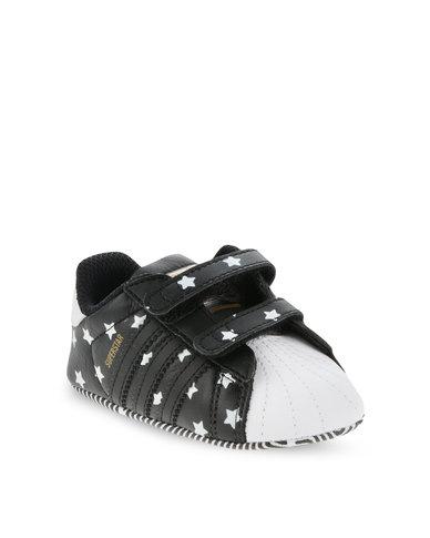 313025274c8 adidas Superstar Crib Shoes Black