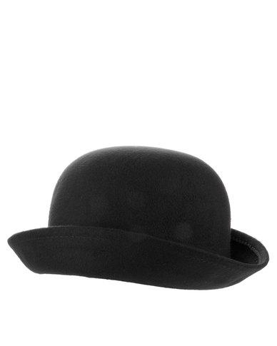 XOXO Chaplin Bowler Hat Black  b9c96cb4363