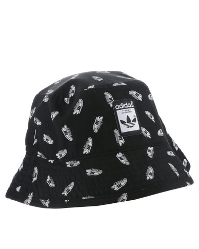 4f19b8e3a9a adidas Superstar Bucket Hat Black