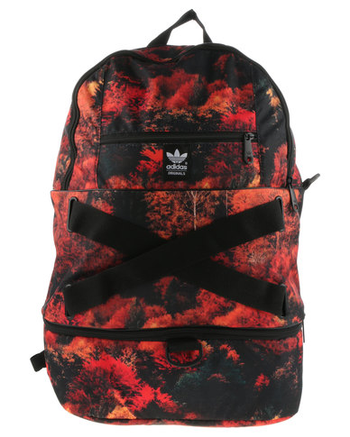 adidas Graphic Floral Backpack Black  3644dd773cd5