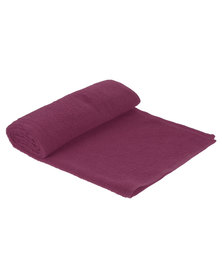 Colibri Towelling Great Value Universal Cotton Bath Towel Red