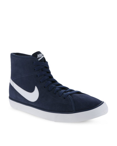 Nike Primo Court Mid Leather Sneakers Blue