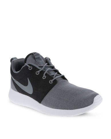 hot sale online 73147 52758 Nike Roshe Run Men's Shoes Grey and Black