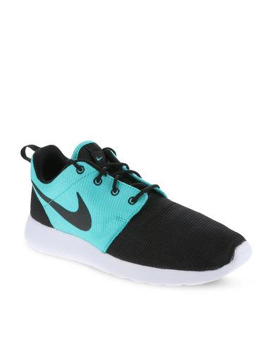 f41e20164f24 ... zando Nike Roshe Run Men s Shoes Black and White .