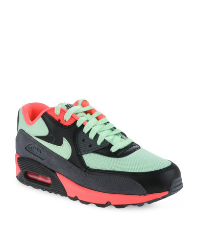 half off 6af80 9ff17 Nike Air Max 90 Essential Men s Shoes Green, Black and Grey   Zando