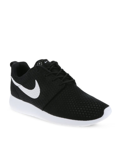 4a36107a5bb163 Nike Roshe Run BR Men s Shoes Black and White