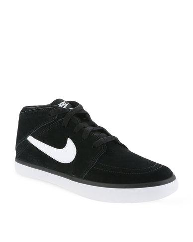 Nike Suketo 2 Mid Leather Black White