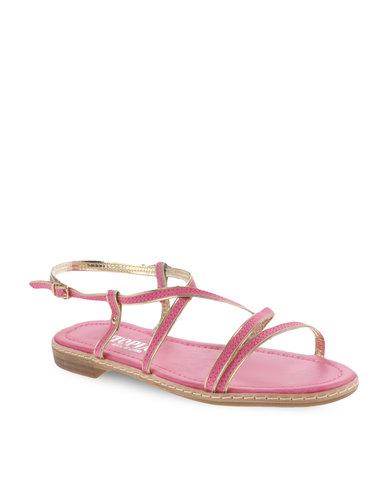 3ae076640b5abf Utopia Binding Strappy Sandal Pink