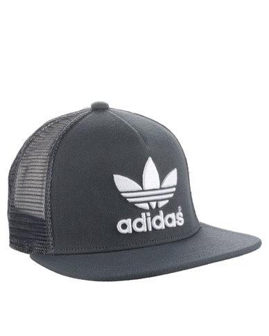 d3c3ebe7 discount adidas flat bill trucker cap navy 48bb7 a0157