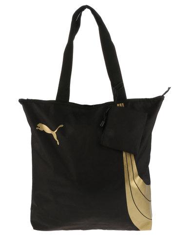 Puma Fundamentals Shopper Bag Black