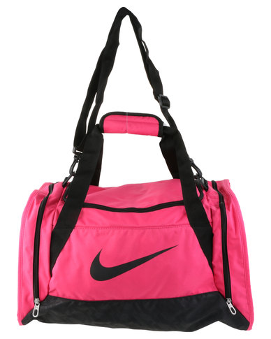Nike Performance Brasilia 6 Small Duffel Bag Pink  e406d870eda31