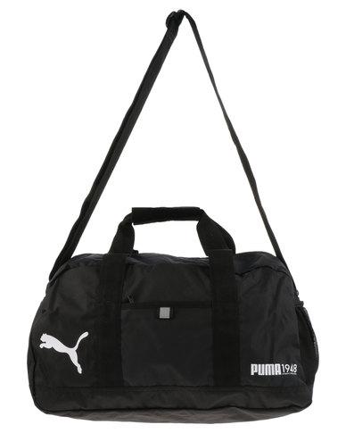 Puma Performance Fundamentals Sports Bag Small Black  c72a3d501141c