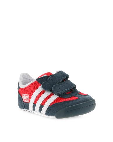 Adidas Dragon l2w crib zapatos Rojo zando