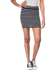Betty Basics Kylie Mini Skirt Black