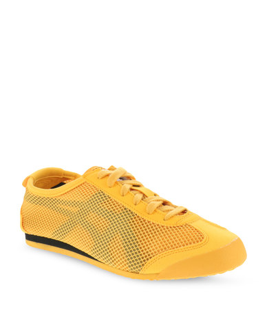 cheaper f48c0 ce3f8 Onitsuka Tiger Mexico 66 Hot Melt Sneakers Gold Fusion and Black