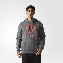 Bulls Washed Pullover Hoodie