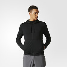 Hooded Workout Track Jacket