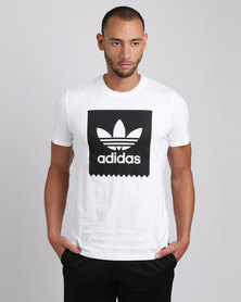 adidas Solid BB Tee White