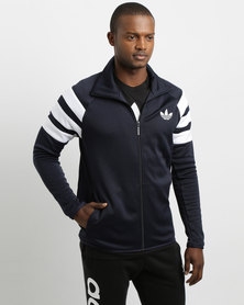 adidas Trefoil FC Track Top Navy Blue