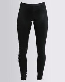 adidas 3-Stripes Leggings Black