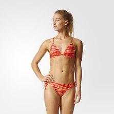 Allover Print Triangle Bikini