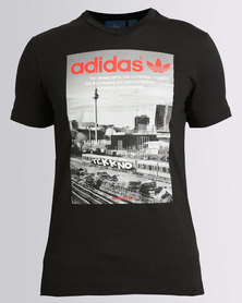 adidas Graphic Photo Tee Black