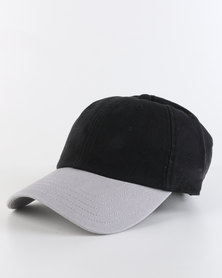 adidas ADI E Cap Black and Grey