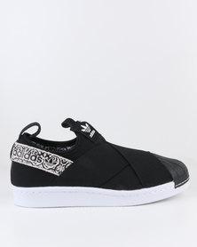 adidas Superstar Slip-on Womens Black/Print