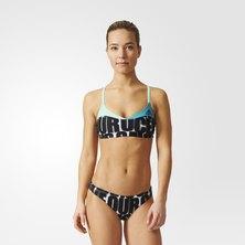 adidas allover graphic parley bikini