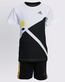 adidas I Sum B Shorts Set Black/White
