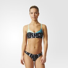 adidas allover graphic parley bikini