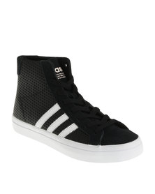 adidas Court Vantage Mid W Lea Sneaker Black
