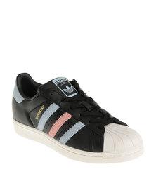 adidas Superstar W Sneaker Black/Purple/Pink