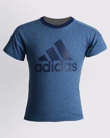 adidas Linear Tee Blue