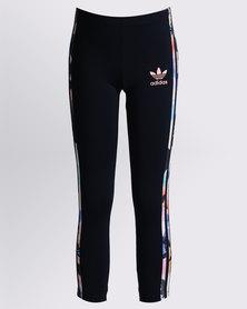 adidas J TRF Girls Leggings Multi