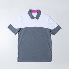 climachill heather blocked polo