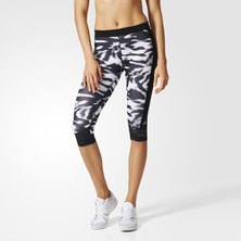 Techfit Printed Capri