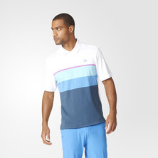 climacool engineered striped polo