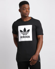 adidas Solid BB Tee Black
