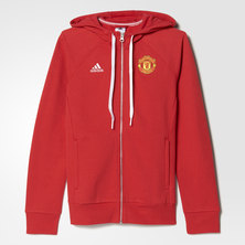 Manchester United FC 3-Stripes Hoodie