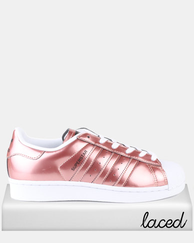 Adidas Superstar Rose Golds Polyvore