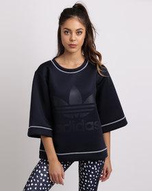 adidas NMD Trefoil 3/4 Sleeves Sweatshirt Blue