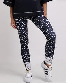 adidas NMD 3 Stripes Leggings Navy